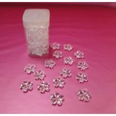 Acrylic Flowers - 3 cm